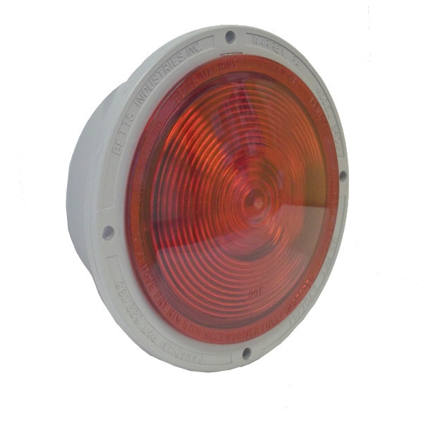 Single LED - Red - Shallow