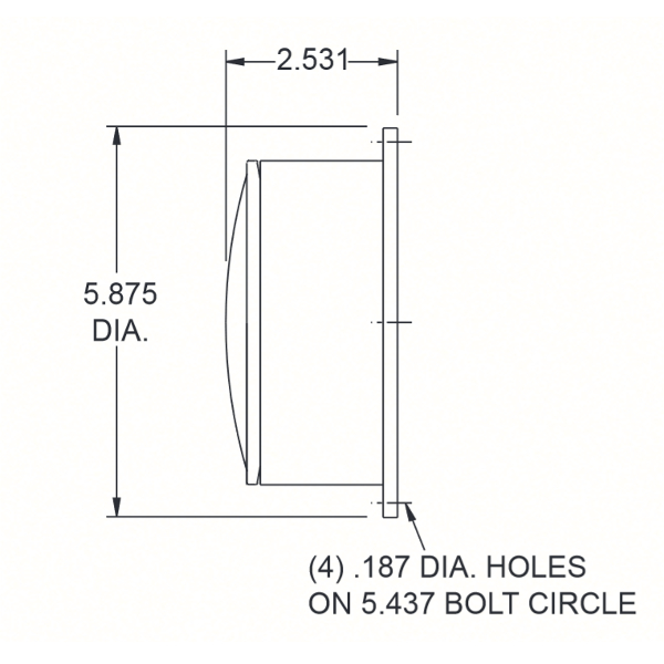 47 Series Dimensions Shallow