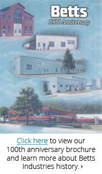 Betts Industries 100th Anniversary Booklet