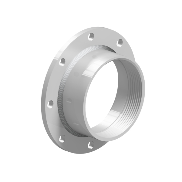 Flanged Half Coupling Adapter - FH_ _ _